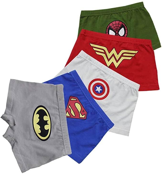 boxer superheroes niños